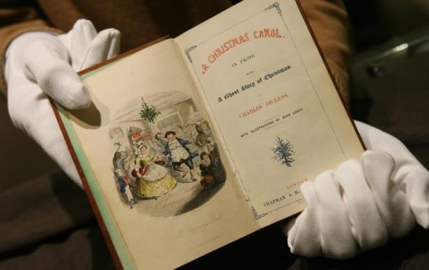 christmas carol-the book