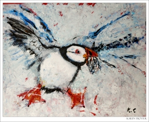 009_Happy Puffin