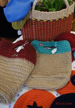 filo di lana bags