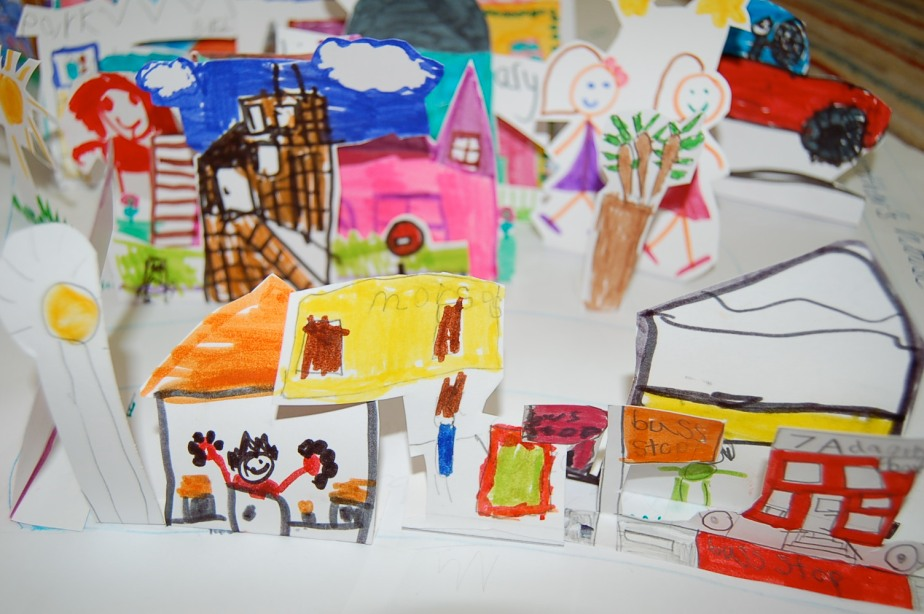The Place Where We Live – Art Project, Inverkeithing Primary School