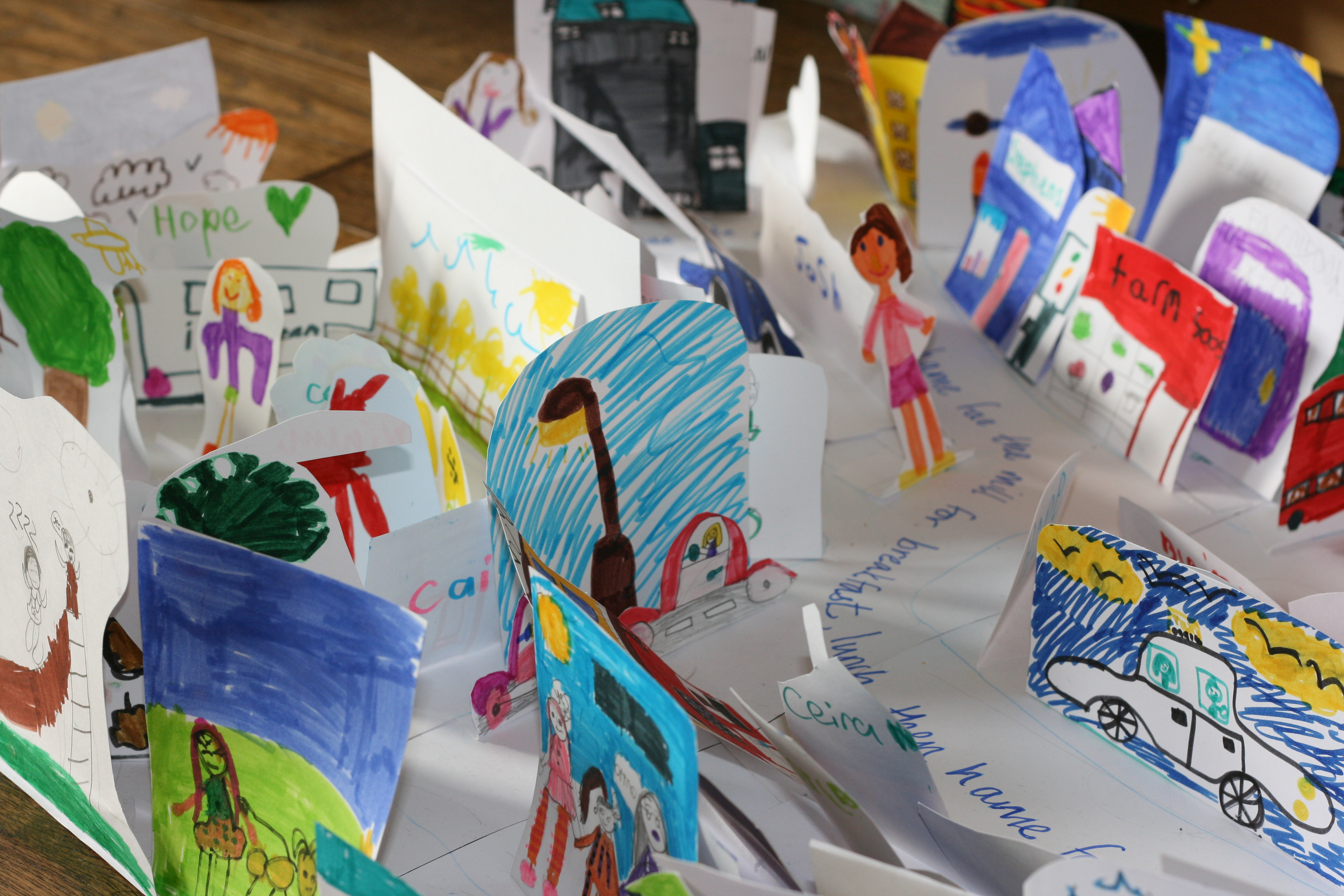 The Place Where We Live Art Project Inverkeithing Primary School There's a supermarket just below my apartment that i can pop into quickly if i there's a lot of room for improvement where i live. art project inverkeithing primary school