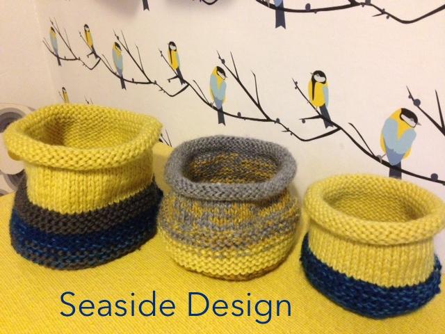 Seaside Design Driftwood & KnittedTextiles