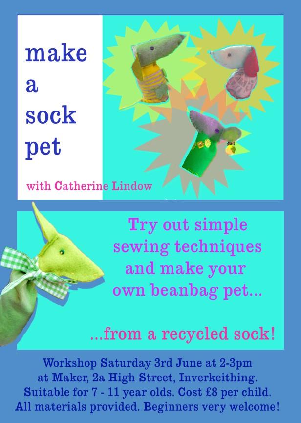 maker sock pet workshop