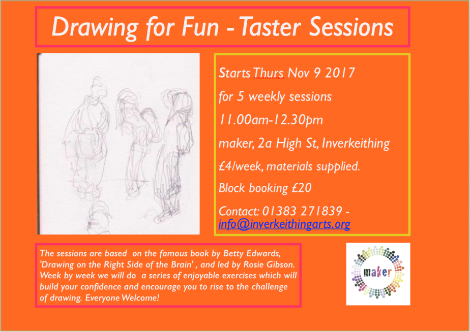 Drawing for Fun – TasterSessions