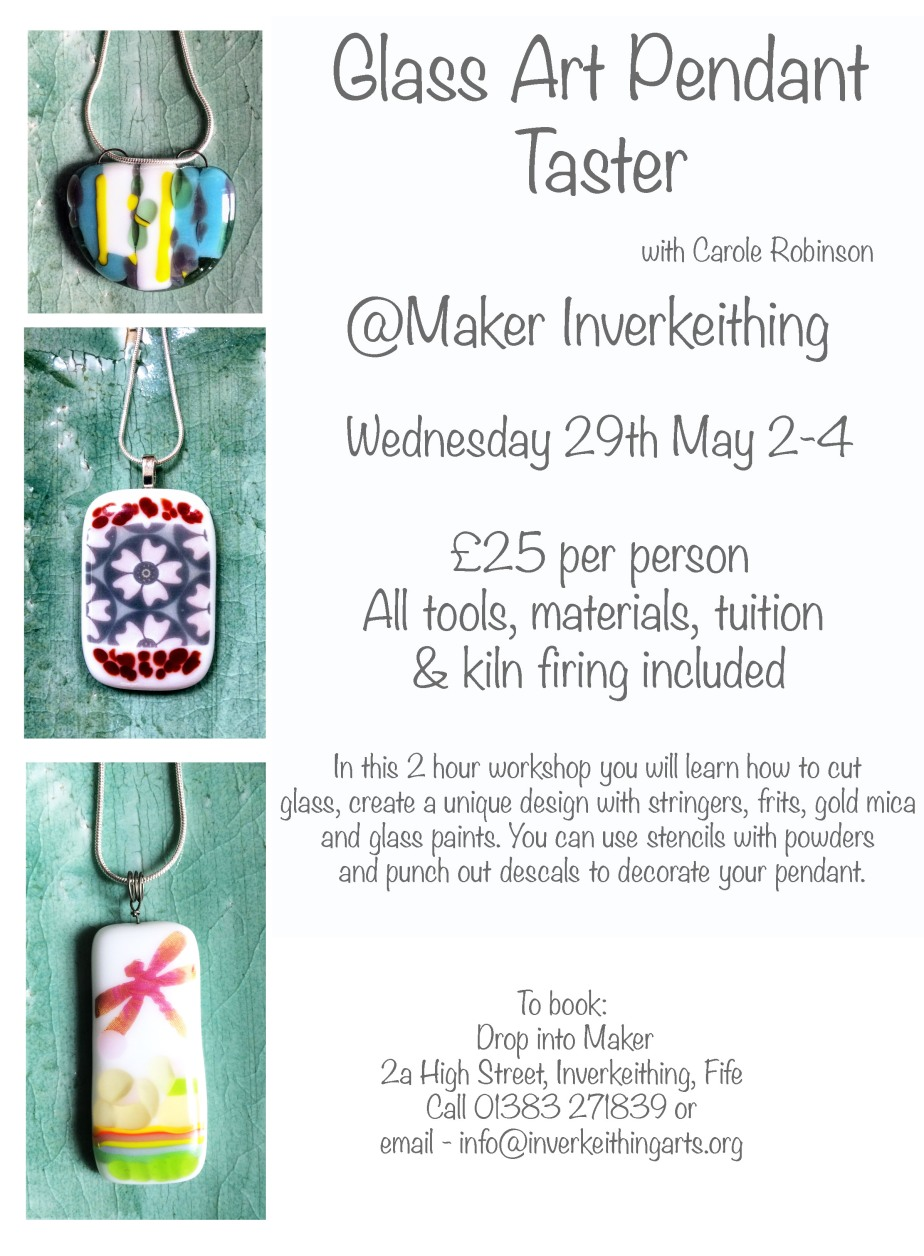 MAKER Glass Fusing WorkshopMay 2019