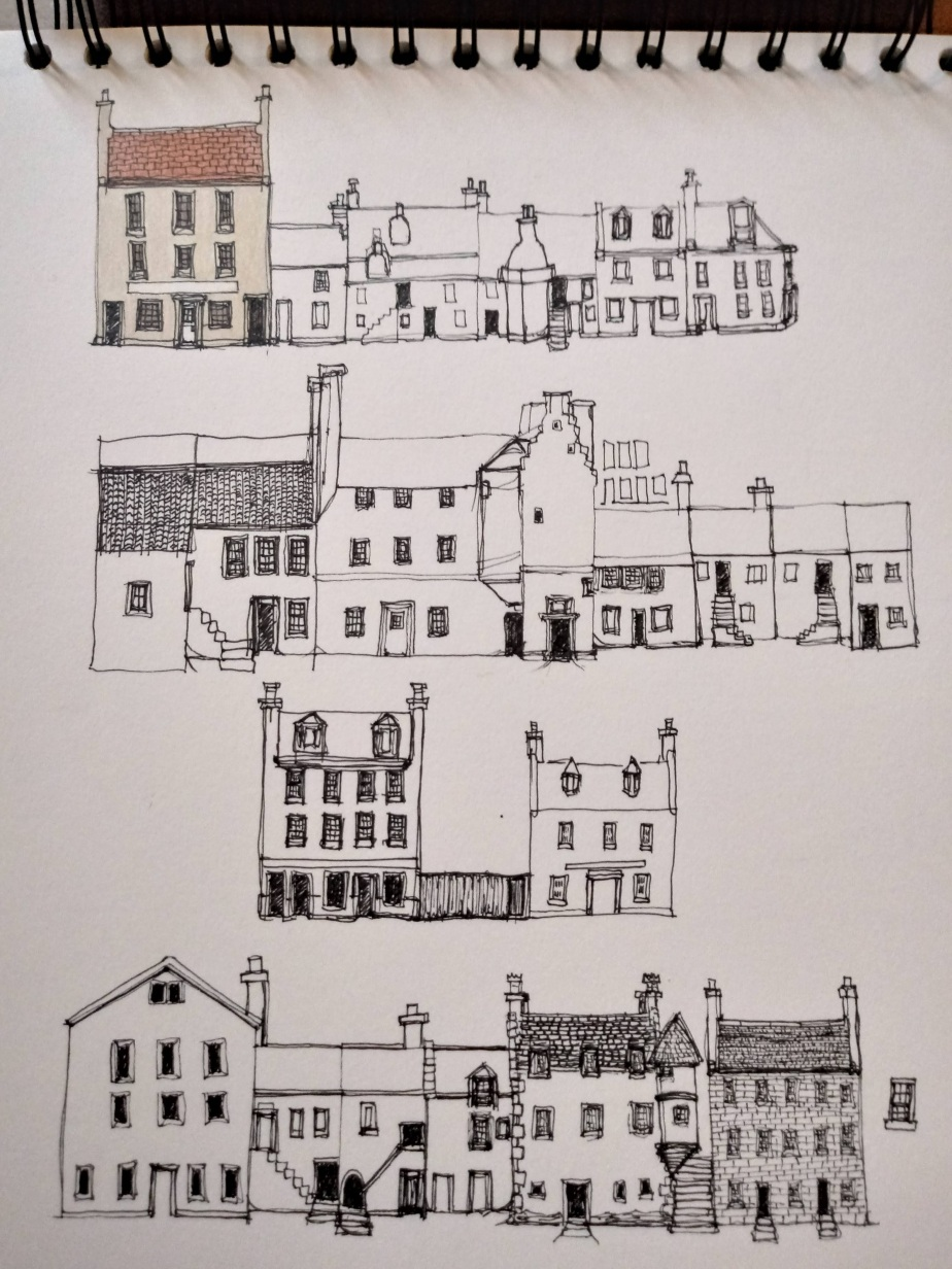 Snapshots & Sketches – layers of atownscape